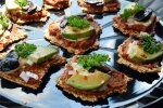 Raw Vegan Mini Flax Cracker Pizza Bites